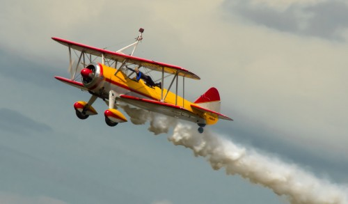 This photo is dedicated to the memory of Jane Wicker and her pilot, Charlie Schwenker (shown here performing at the Sun 'n Fun airshow in Lakeland Florida in April of 2013s year).