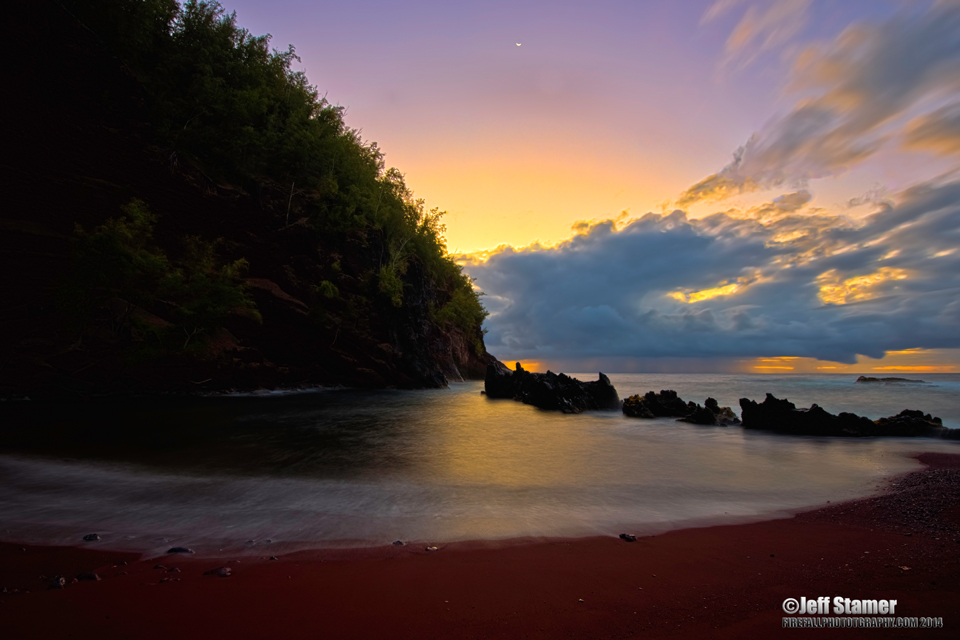 Maui's Red Sand Beach: Photo Tips