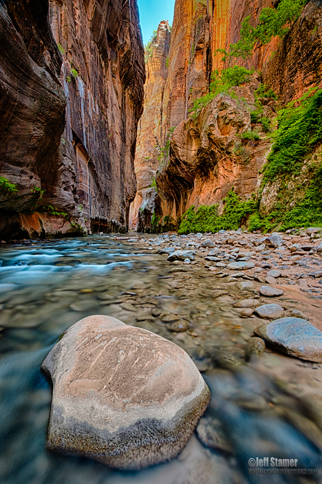 Zion Virgin Narrows Photo Tips and Guide