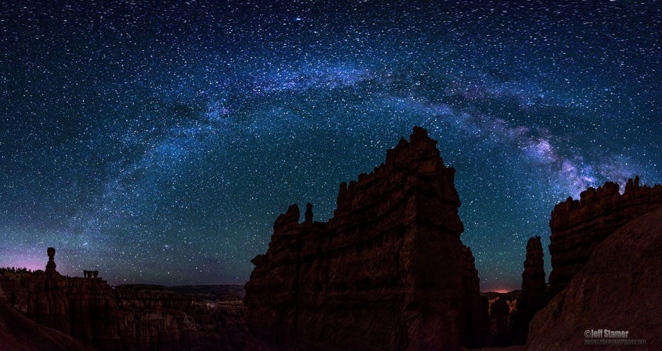 Milky Way captured at Bryce Canyon during a new moon.