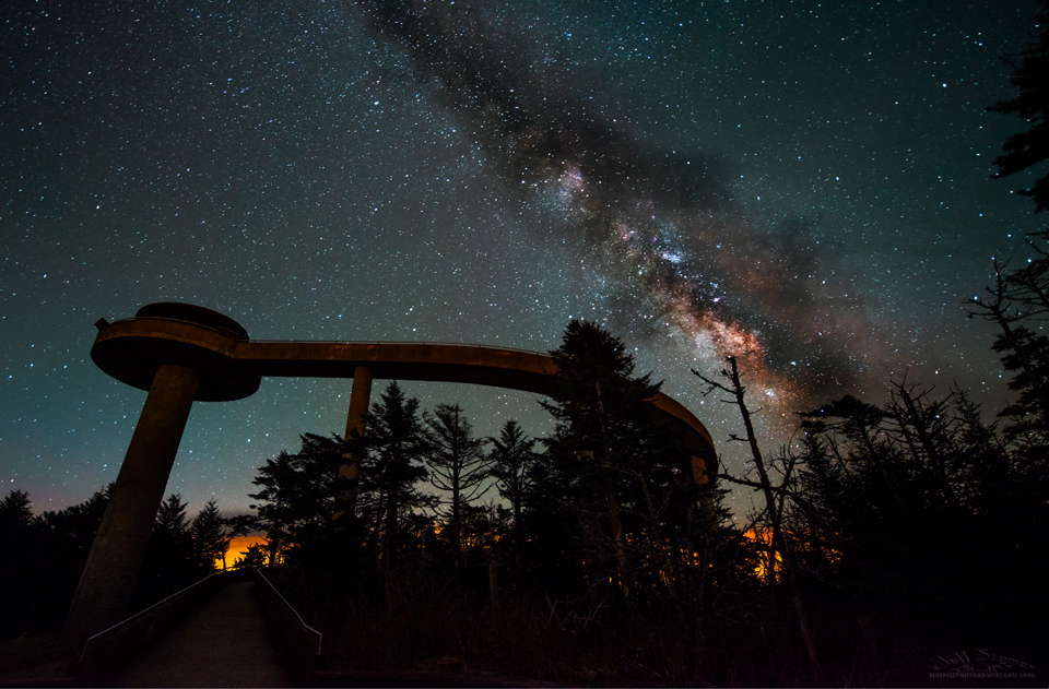 Milky Way Photography in the Smokies:  Clingman's Dome