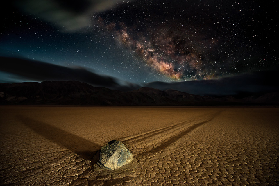 Racetrack Playa Milky Way