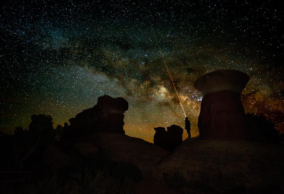 Devil's Garden Escalante Milky Way