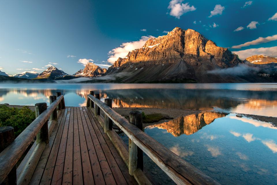 Crowfoot Mountain Banff National Park