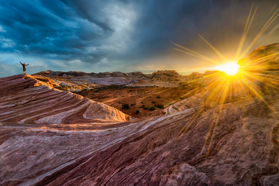Fire Wave at Valley of Fire State Park Nevada