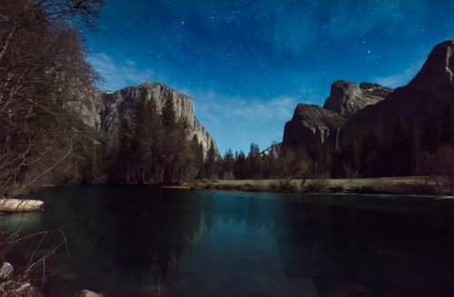 Night Photography at Yosemite