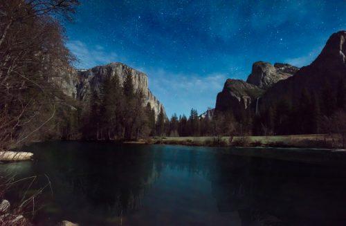 Night Photography at Yosemite