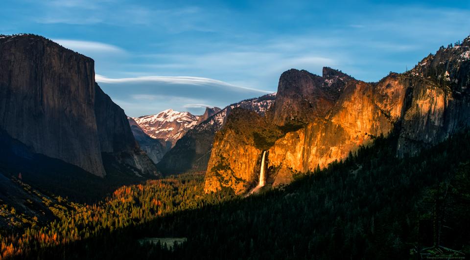 Artist's Point Yosemite Sunset