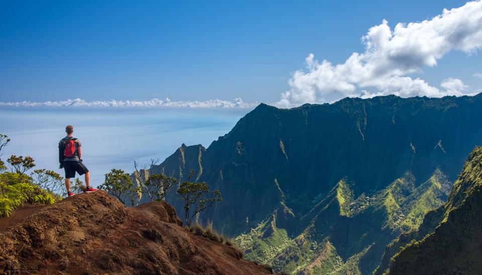 Kalepa Ridge Trail, Kauai