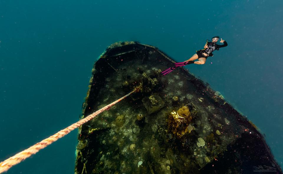 Underwater St. Lucia