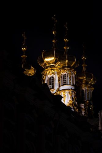 Winter Palace Night Photography St. Petersburg