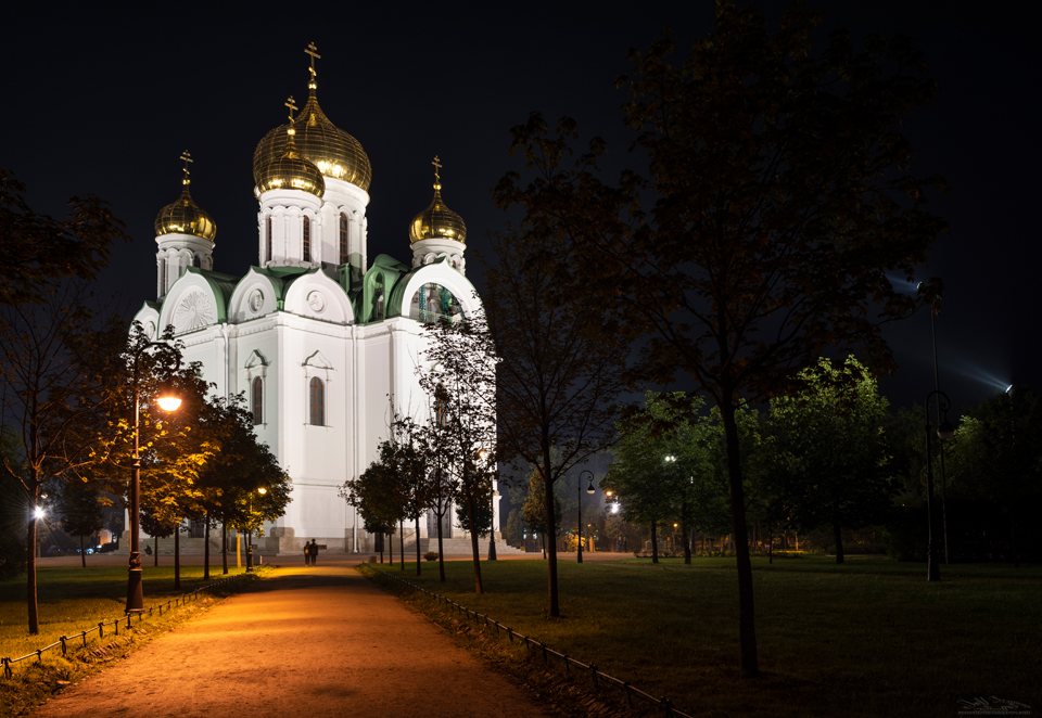 Winter Palace Night Photography St. Petersburg