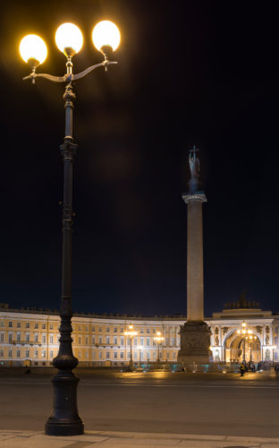 Night Photography in Moscow and St. Petersburg