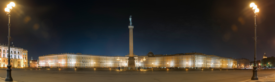 Hermitage Night Photography in St. Petersburg