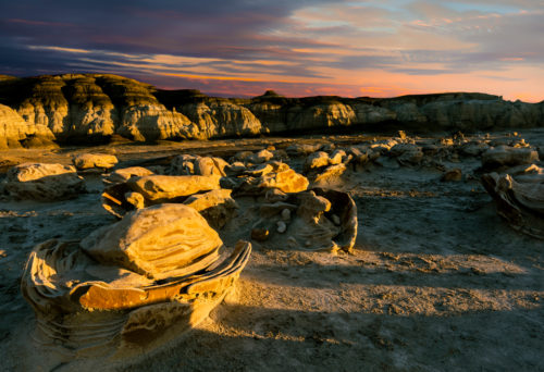 Bisti Badlands: A Photographer's Perspective Cracked Eggs the Alien Egg Hatchery