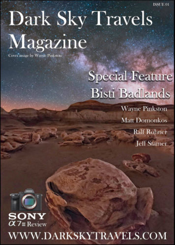 Jeff Stamer Published in Dark Sky Travels Magazine February 2019