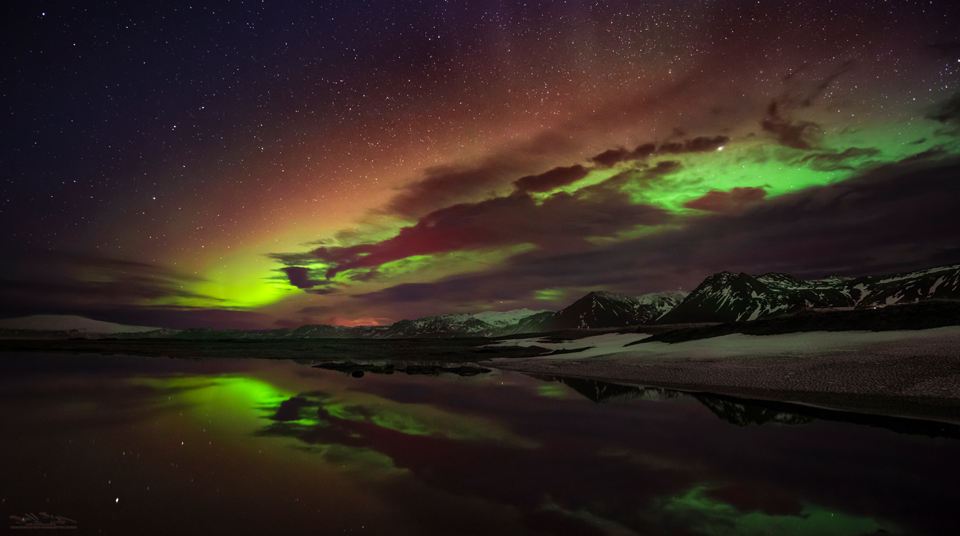 Photographing the Northern Lights in Iceland Snaefellsnes