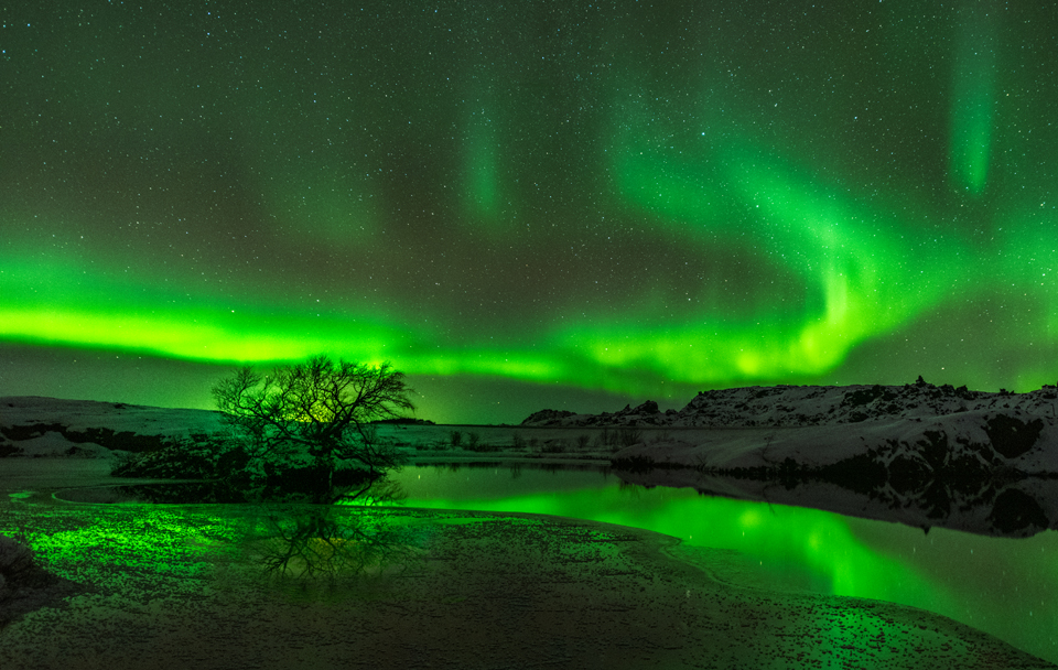 Photographing the Northern Lights in Iceland Myvatn