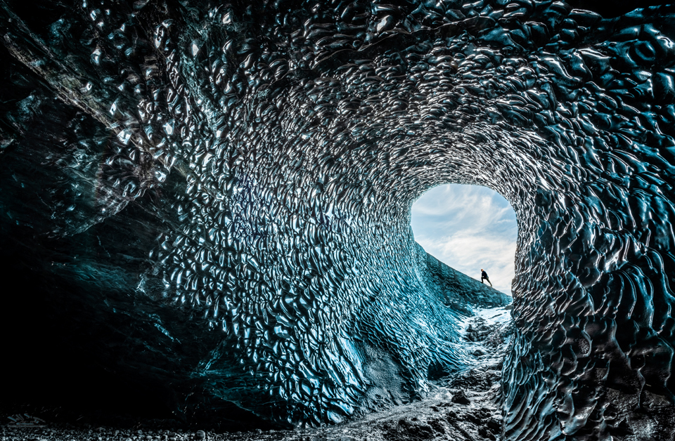 Ice Caves in Iceland:  Images and Tips for Photographers