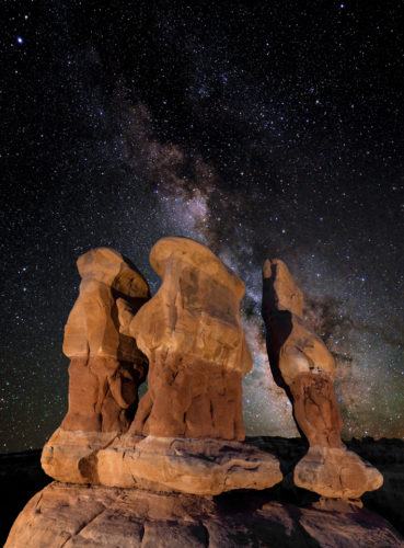 Escalante's Devils Garden Night Photography