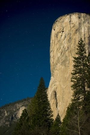 Moonlit El Capitan